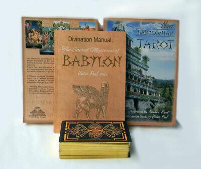 New Babylonian Tarot Gilded Set