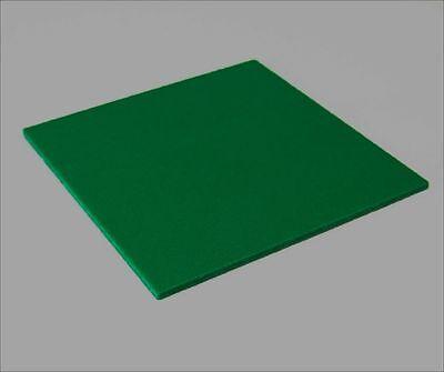 Dark Green Sintra Pvc Foam Board Plastic Sheets 3mm 8 X 12 X 18