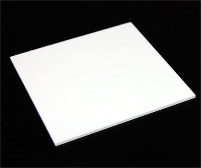 18 3mm Solid White Acrylic Plexiglass Sheet Thick 12x12 White Board