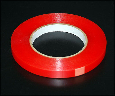 3 Rolls 30 Feet 10 Yard 14 Inch Double-sided Clear Transparent Tape Adhesive