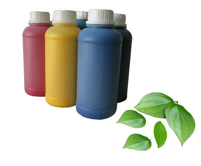 Eco Solvent Yellow Ink Refill Compatible For Epson Roland Mutoh Mimaki 1000 Ml