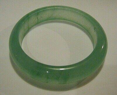 4pcs Multicolor Icy White Green Red Black Jade Jadeite Bangle Bracelet 54-55MM