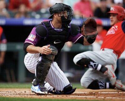 """Nike Baseball Catchers Gear Leg Shin Guards 17"""" $350 PBP593-085 MLB IANNETTA"""