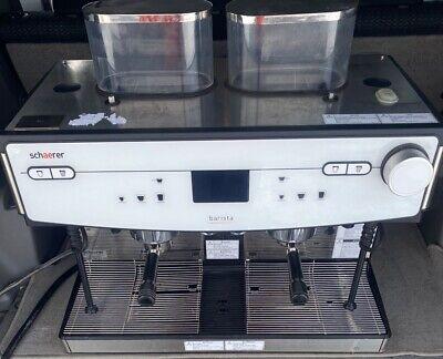 2018 Schaerer Barista 2 Group Commercial Automatic Espresso Machine