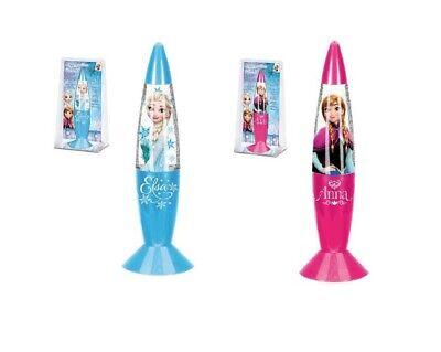 Eiskönigin Anna und Elsa LED Glitzer-Lampe mit Farbwechsel (Frozen Farben)