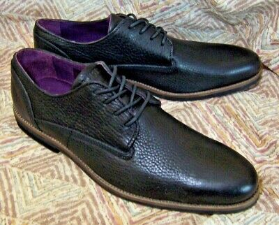 Mens NEW Black Pebble Leather BLACKSTONE Dress Shoes Special Occasion sz 43/US 9 Special Occasions Mens Shoe
