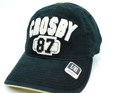 Pittsburgh Penguins Reebok EM52Z NHL Player Hockey Cap Hat  Sidney Crosby  L/XL