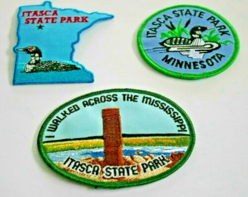 ITASCA STATE PARK, MINNESOTA patches