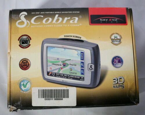 Cobra NAV ONE GPSM 2100 Handheld