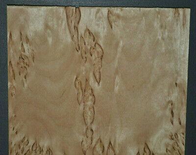 Karelian Birch Raw Wood Veneer Sheets At 6 X 46 Inches 142nd Thick  G7634-45