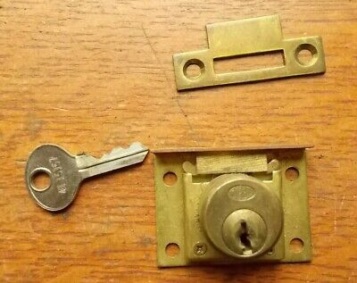 Vintage Corbin Brass Mortise Door Lock for Wardrobe, Cabinet, Pantry - Clever