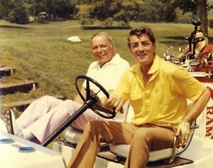 DEAN-MARTIN-FRANK-SINATRA-PHOTO-SINGER-MOVIE-TELEVISION-STARS-GOLF-COMEDIAN