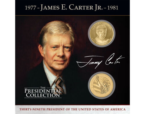 """James Earl """"Jimmy"""" Carter Presidential Commemorative Coin Collection"""