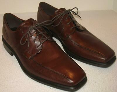 Men's ECCO Minneapolis Oxford Comfort Business  Shoes Leather  Mink  EU 45  NEW Ecco Business Comfort