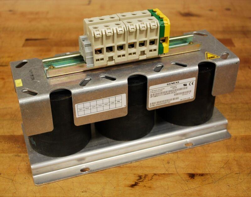 Siemens 6SN1111-0AA00-0CA1 Line Reactor 36kw - USED