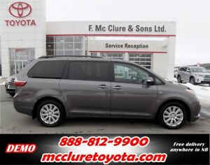2017 Toyota Sienna XLE AWD Auto Start included