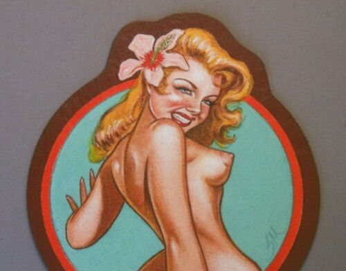 "Pin-up ""HULA"" / ""MASTERS SERIES"" / By Artist Steve McNeely"