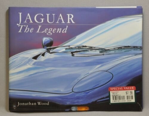 Jaguar The Legend by Jonathan Wood Hardbound