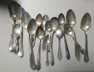 270 Grams Scrap Sterling Silver Spoons