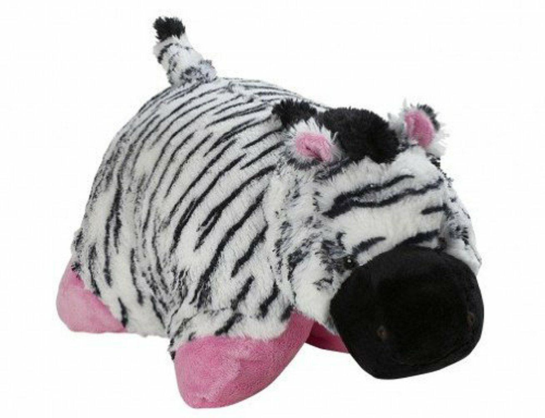 Pee Wee Genuine Pillow Pet ZEBRA Small 11 - NEW