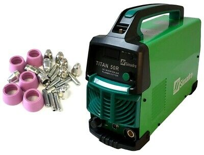 Plasma Cutter 25 Cons Simadre 50r 50 Amp 110220v 12 Clean Cut