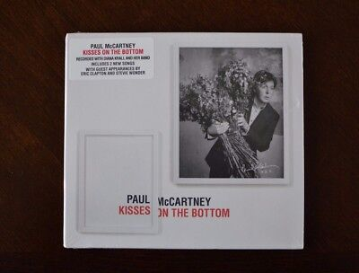 Kisses On The Bottom (CD, Feb 10, 2015) by Paul McCartney NEW (Kiss Halloween Music)