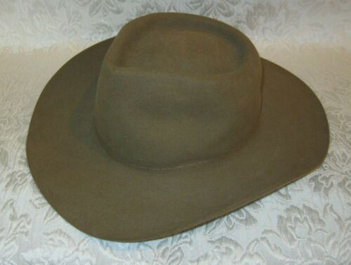 AKUBRA Pure Fur Felt Australian Cowboy Hat ~ Youth XL or Adult S