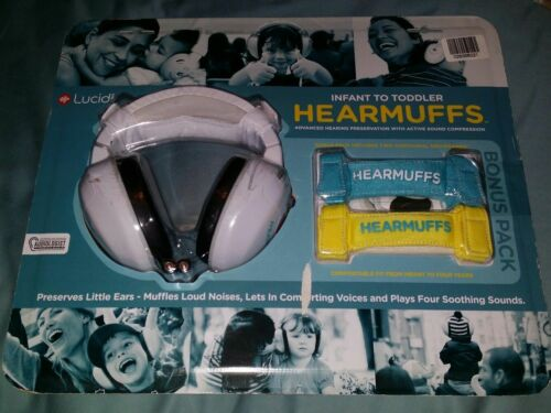 Lucid Audio Infant HearMuffs with Sounds Bonus Pack