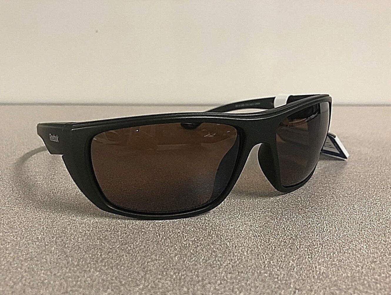 2888406fbe2 Мужские солнцезащитные очки New Reebok Mens  Cycling Golf Wrap Sport  Polarized Lens Sunglasses Green Frame