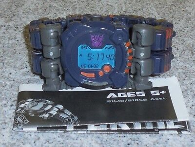 Transformers Real Gear MEANTIME complete stop watch
