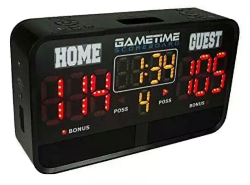 Gametime Digital Sports Scoreboard Indoor & Outdoor - App Controlled with