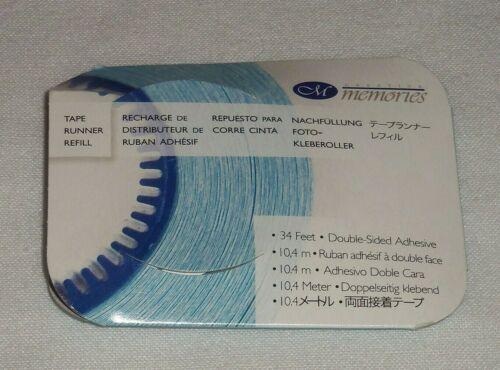 Creative Memories Tape Runner Refill  34 feet - Double Sided - Self Adhesive NIP