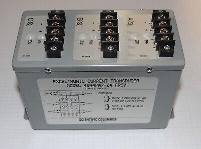 Ametek Scientific Columbus 4044pa7-24-fr50 3ph Exceltronic Current Transducer