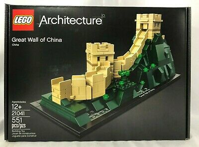 Lego Architecture 21041 Great Wall of China - NEW Sealed- FREE Shipping
