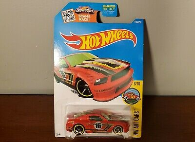 '07 Ford Mustang Hot Wheels 198/250 HW Art Cars 8/10 DHR91-D9B0M