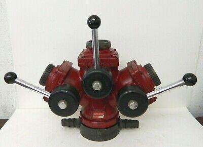 Akron Brass 2582 3 Way Suction Siamese Valve Wye Firefighting Equipment 2