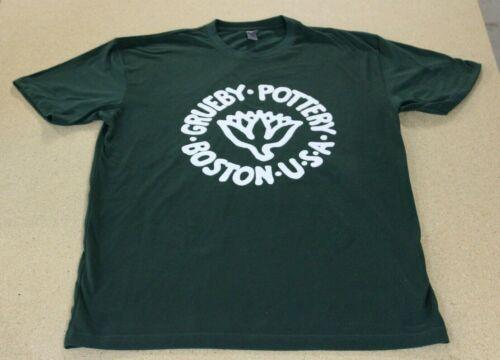Grueby Pottery Boston USA Next Level 100% Cotton T