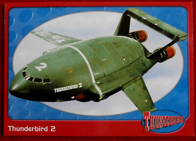 THUNDERBIRDS - Thunderbird 2 - Card #04 - Cards Inc 2001  - Gerry Anderson