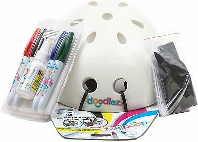 Doodlezz Draw Spray & Erase Youth Skateboard Bike Helmet Color, Create & Doodle