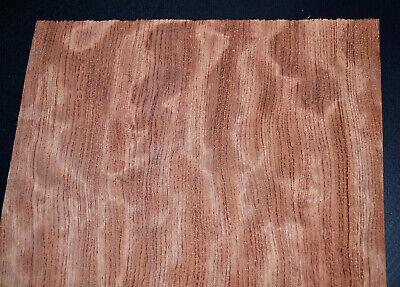 Bubinga Wood Veneer Sheets 9 X 40 Inches Aka African Rosewood G7805-46
