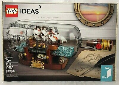 LEGO Ideas 21313  Ship in a Bottle -NEW Sealed, FREE Shipping, Leviathan