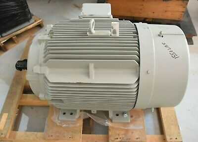 New Siemens 100hp 460v 1185 Rpm Sd100 1le23214dc112aa3 444 Ts Motor 100 Hp