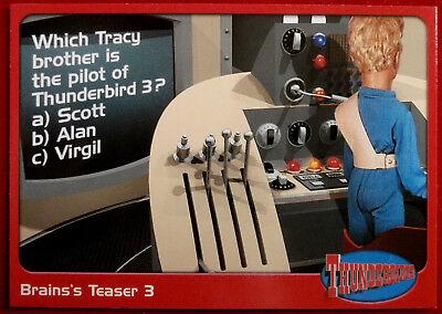 THUNDERBIRDS - Brains's Teaser 3 - Card #67 - Cards Inc 2001 - Gerry Anderson