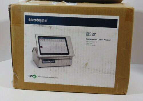 Datecode Genie X2 Automated Label Thermal Printer