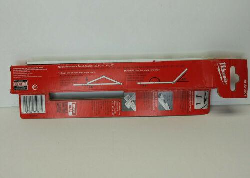 "Milwaukee 78"" Composite Folding Rule with Angle Mark, Corrosion-free, 58-09-0201"