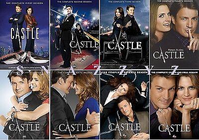 New & Sealed! TV Castle Complete Series DVD Seasons 1 - 8