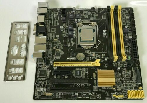 IMBM-Q170A REV 1.02  Motherboard + Intel Pentium G4400 + 8gb ram w/IO shield