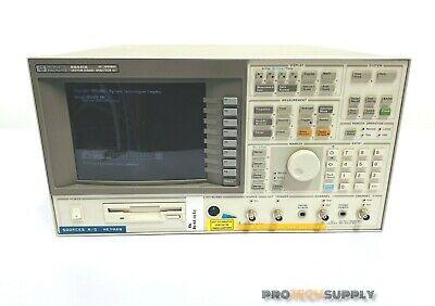 Hp Agilent 89441a Vector Signal Analyzer Aya 1bh Ay7 Ay9 Uth 1c2 With Warranty
