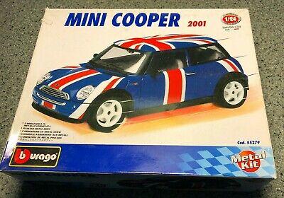 Burago 55279 2001 Mini Cooper 1:24 metal kit