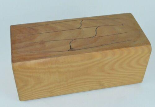 Nova Diversified Wood Slit Tongue Drum Junior J6TC Handmade GUC! No Mallets